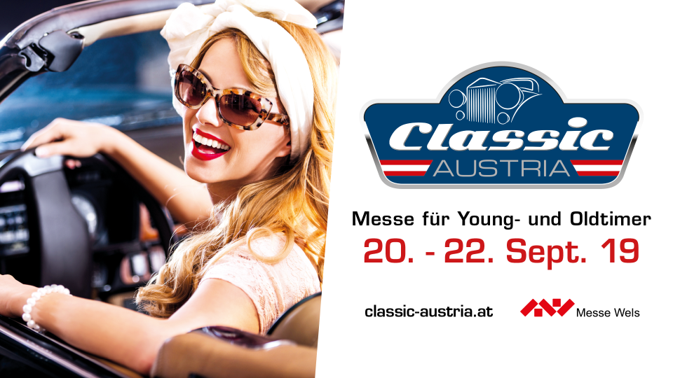Classic Austria, Oldtimermesse in Wels
